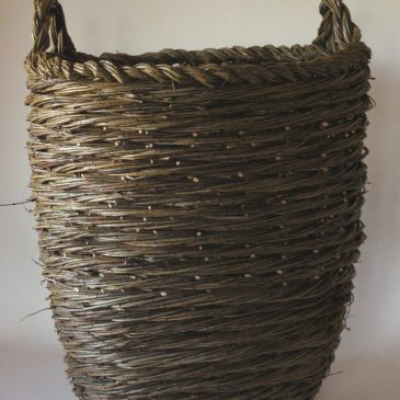 Spiral weave container