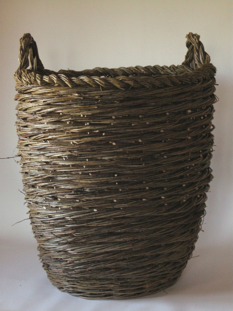 Container, spiral weave