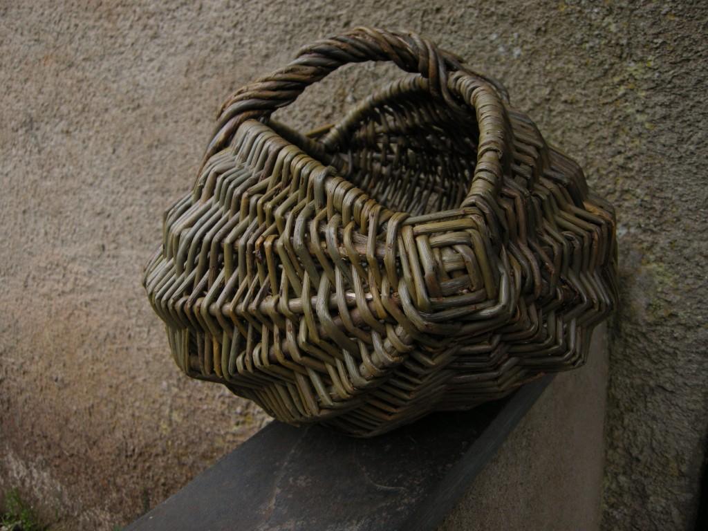 Frame basket, melon shape