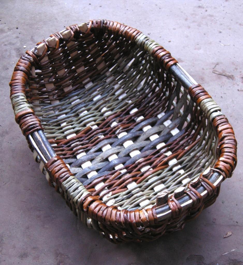 Frame basket, oval